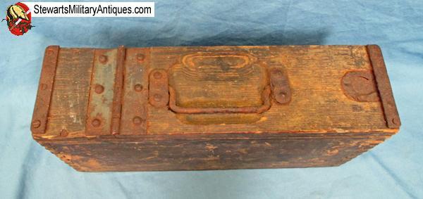 Stewarts Military Antiques German Wwi Wooden Mg Ammunition Box