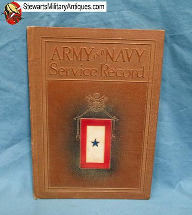stewarts military antiques us wwi army and navy service record
