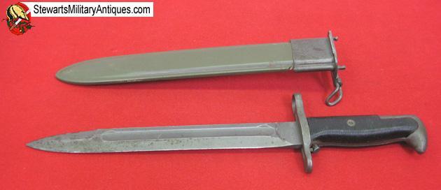 Stewarts Military Antiques - - US WWII M1 Garand Bayonet, PAL Mfg