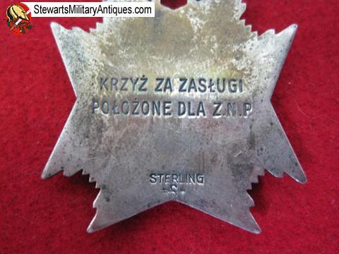 Stewarts Military Antiques - - Polish WWII Era Patriotic