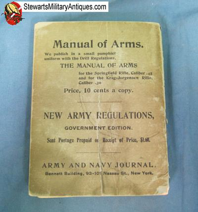 Stewarts Military Antiques - - US Spanish American War Era