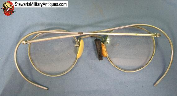 Stewarts Military Antiques - - US WWII GI Eyeglasses & Case - $45.00
