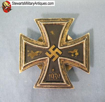 Stewarts Military Antiques - - German WWII Iron Cross 1st Class
