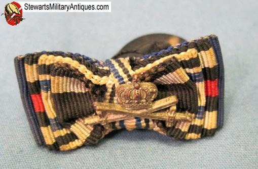 Stewarts Military Antiques - - German WWI Ribbon Lapel