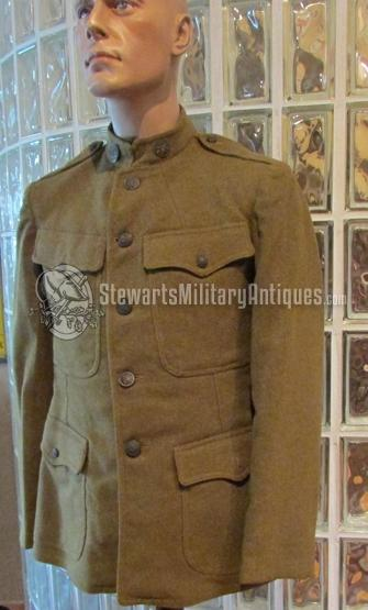 Stewarts Military Antiques - - US WWI Doughboy Tunic