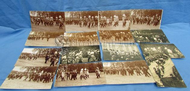 Postcards German Pre WWI Imperial Military Funeral Postcard