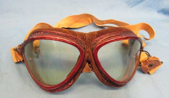 Stewarts Military Antiques - - Japanese WWII Army Flying Goggles