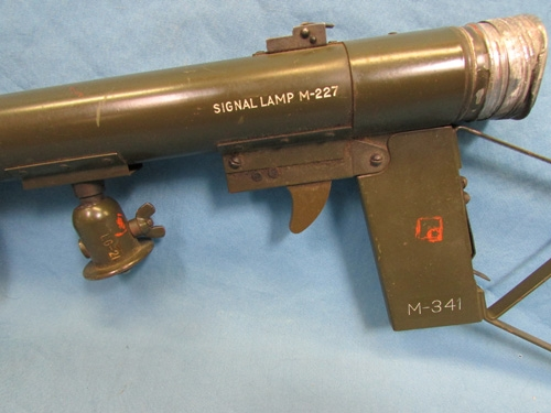 Stewarts Military Antiques - - US WWII Army Signal Lamp M227, Parts