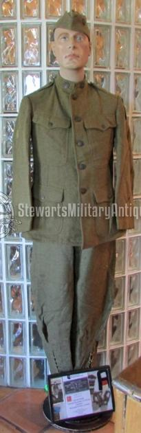 Stewarts Military Antiques - - US WWI Identified Doughboy