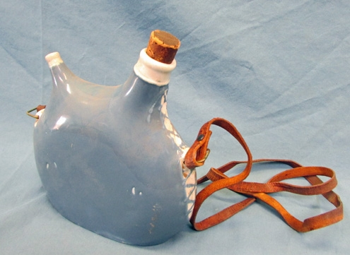 Stewarts Military Antiques - - French WWI Ceramic Canteen