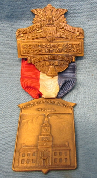 Photos Of US 1940 Republican National Convention Medal Philadelphia