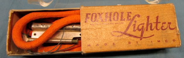 Stewarts Military Antiques - - US WWII Foxhole Lighter in