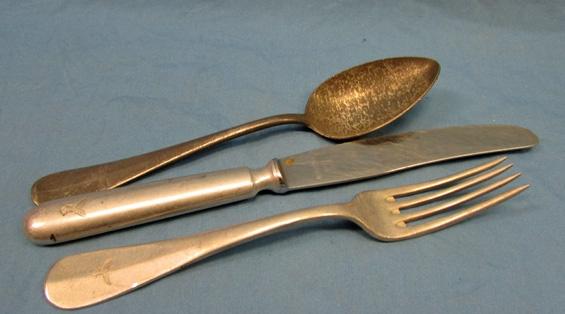 Stewarts Military Antiques - - German WWII Luftwaffe Knife-Fork