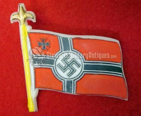 Stewarts Military Antiques - - German WWII Kriegsmarine Flag