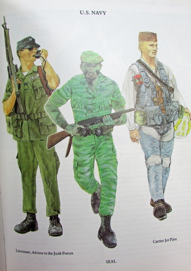 Stewarts Military Antiques Book Vietnam War Uniforms Of The Indo China And Vietnam Wars Thompson 15 00