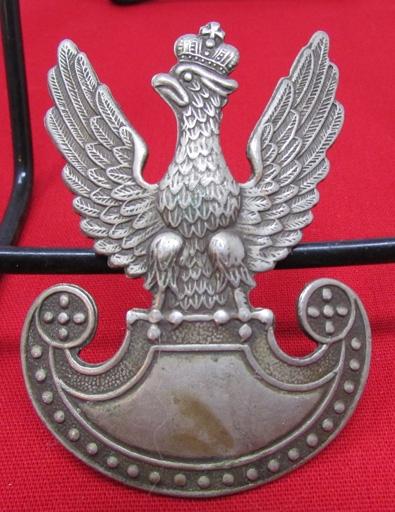 Stewarts Military Antiques - - Polish WWII Hat Badge - $55 00
