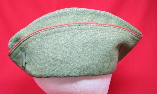 Headgear US US WWI Artillery Officers Overseas Hat, British